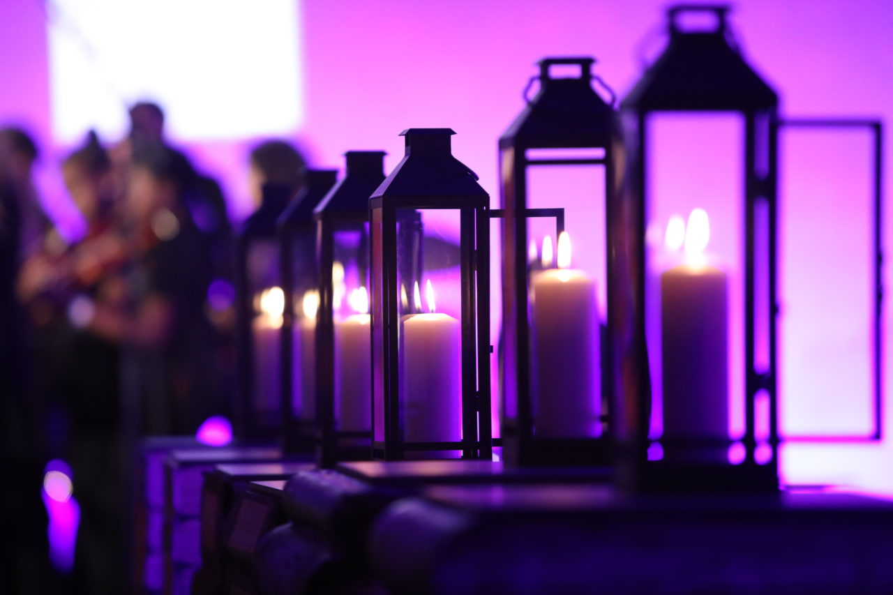 Hosting a ceremony for Holocaust Memorial Day