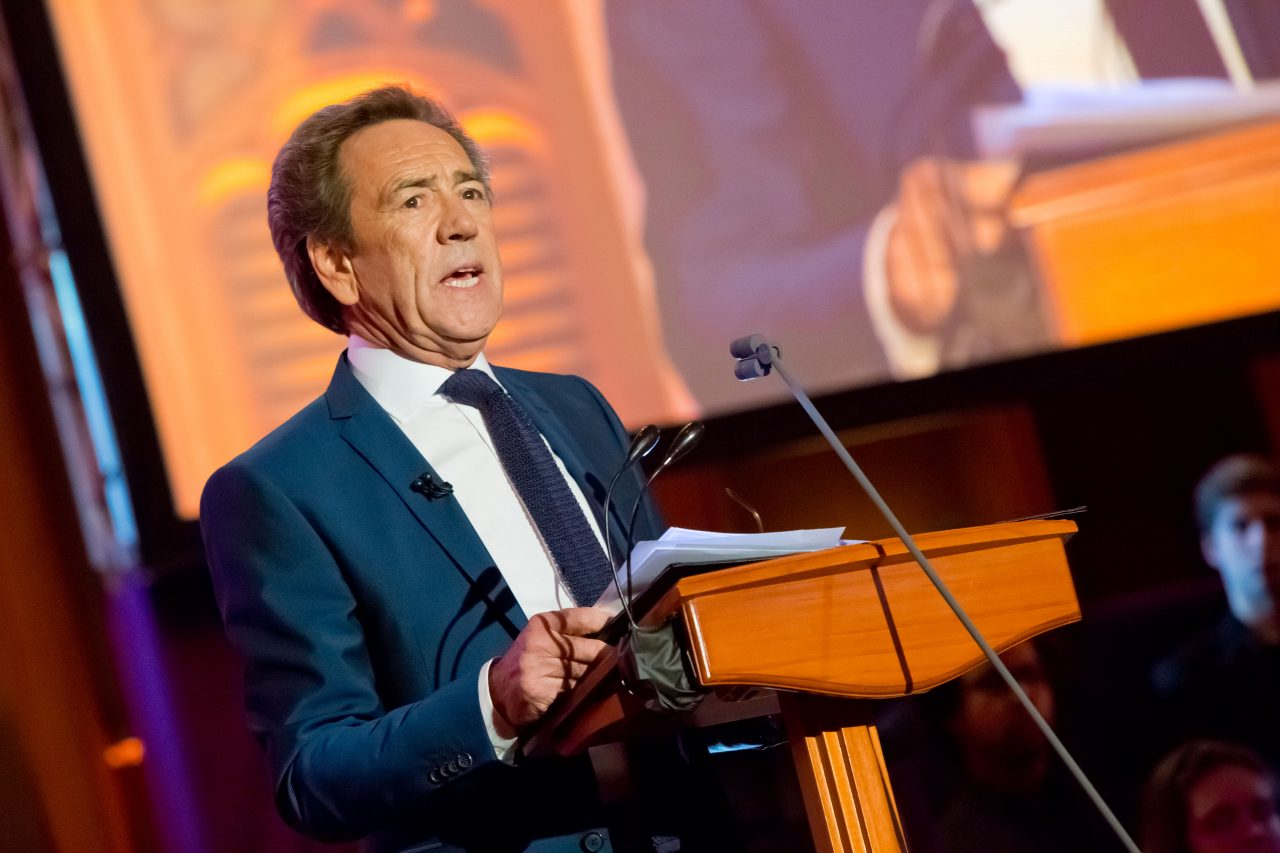Actor Robert Lindsay narrated the event.