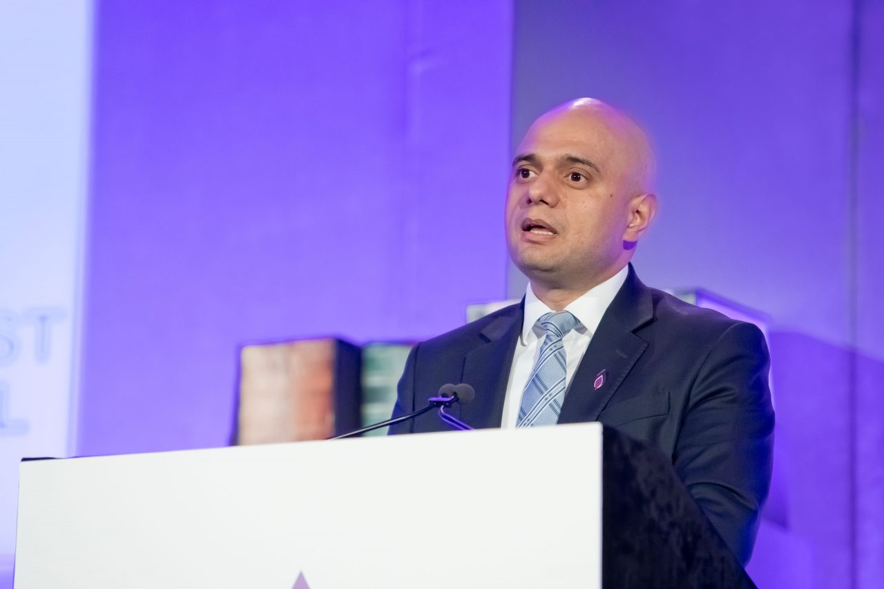 Rt Hon Sajid Javid, Secretary of State for the Ministry of Housing, Communities and Local Government.