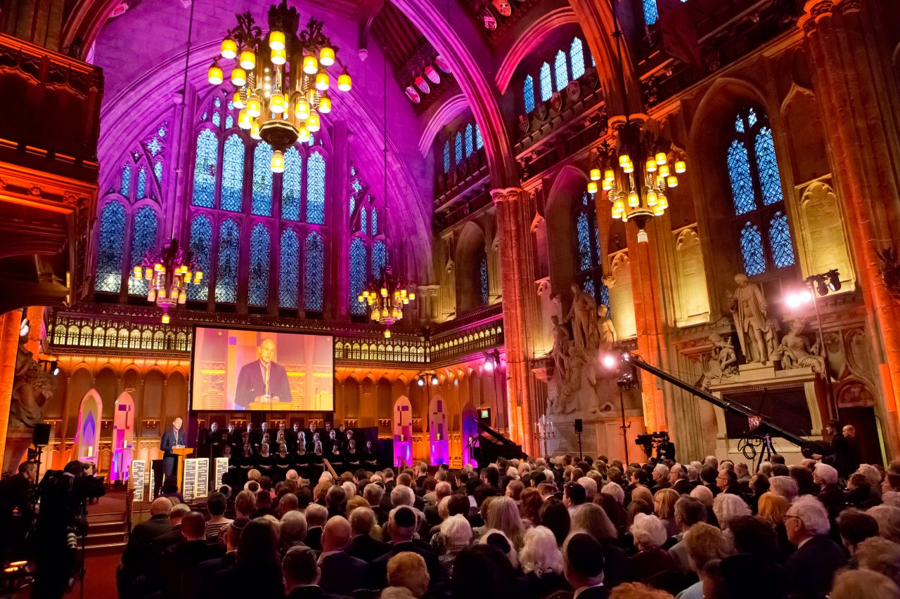 UK Commemorative Ceremony for Holocaust Memorial Day 2016