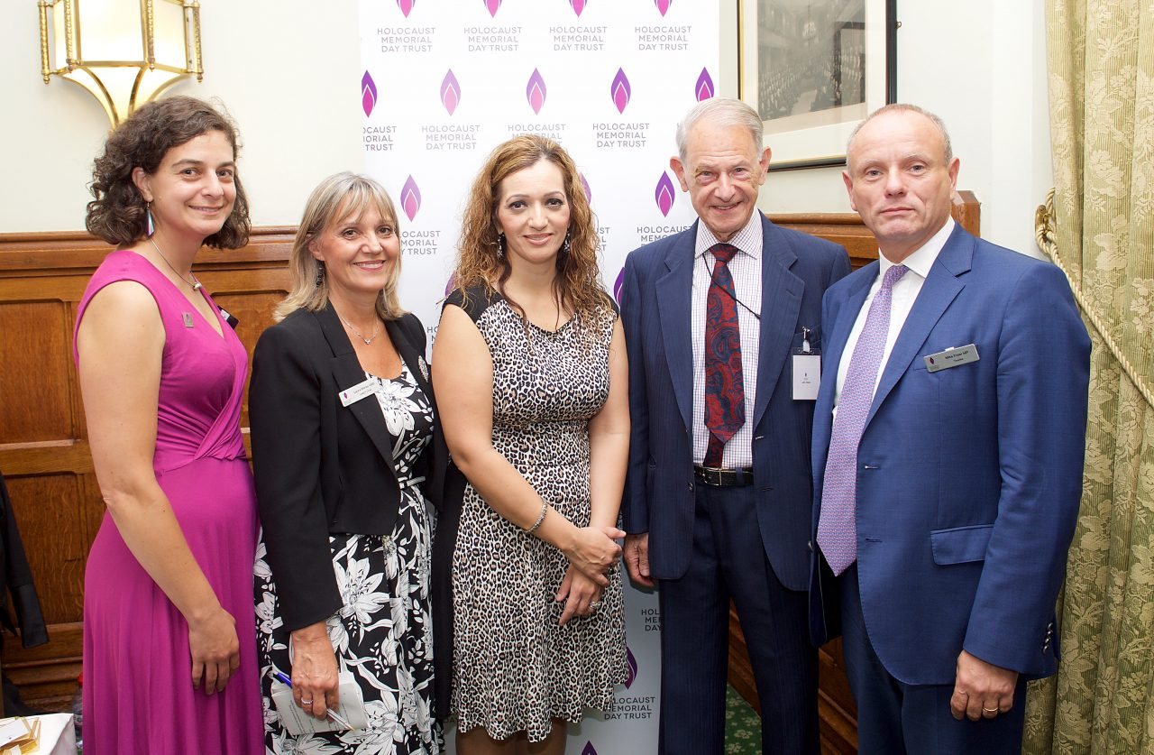 Holocaust survivors and MPs help to launch resources for Holocaust Memorial Day 2017 at Parliament