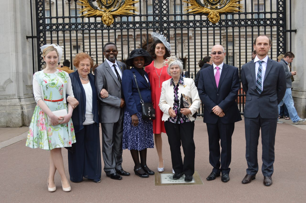 Survivors visit Buckingham Palace to attend Royal Garden Parties
