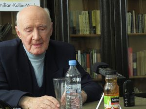 Holocaust survivor, Ignacy Golik