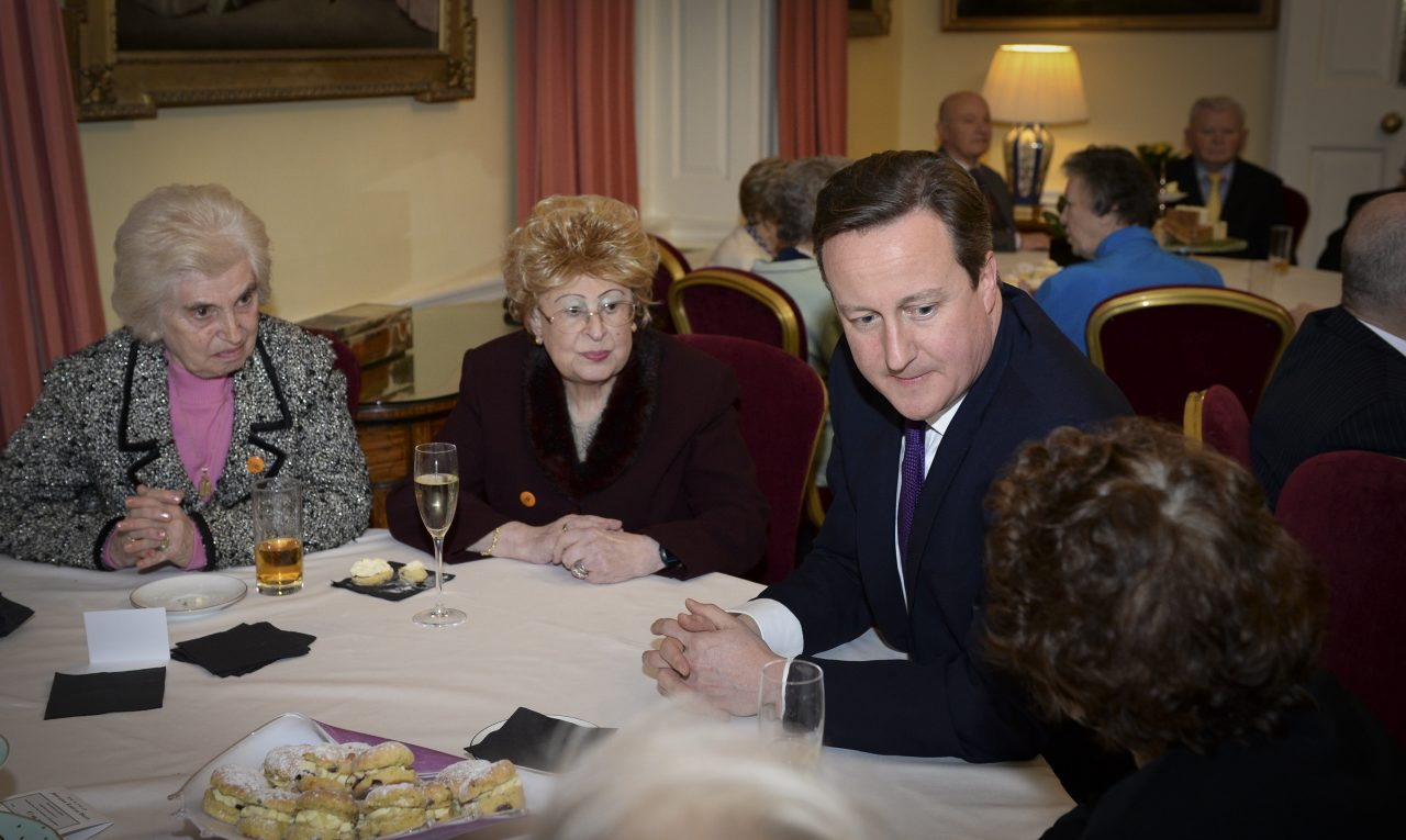 Survivors welcomed to Downing Street by the Prime Minister for Holocaust Memorial Day