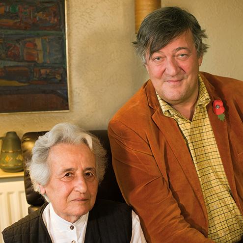 Anita Lasker-Wallfisch meets Stephen Fry