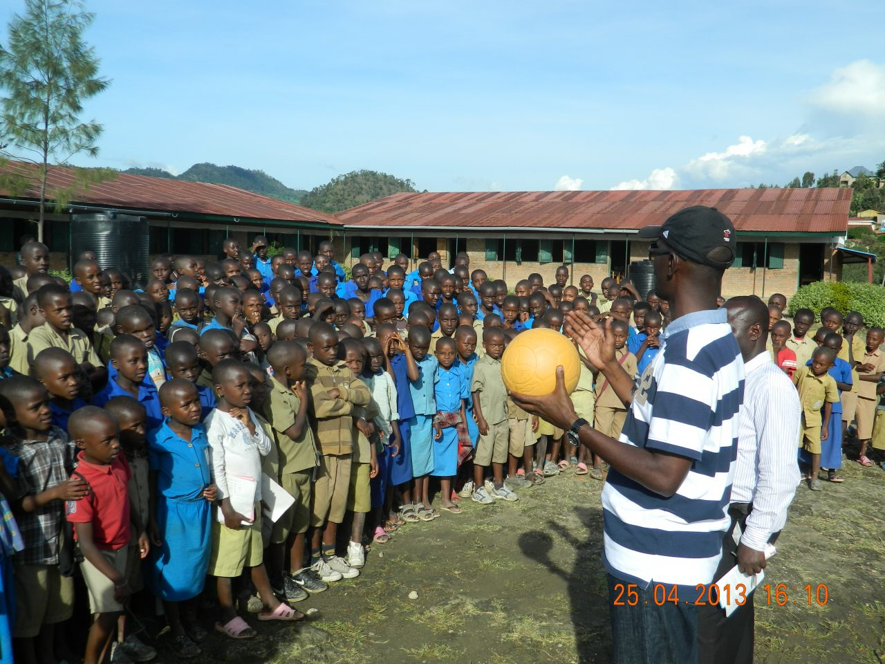 Beyond the World Cup: Genocide survivor harnesses power of football in Rwanda