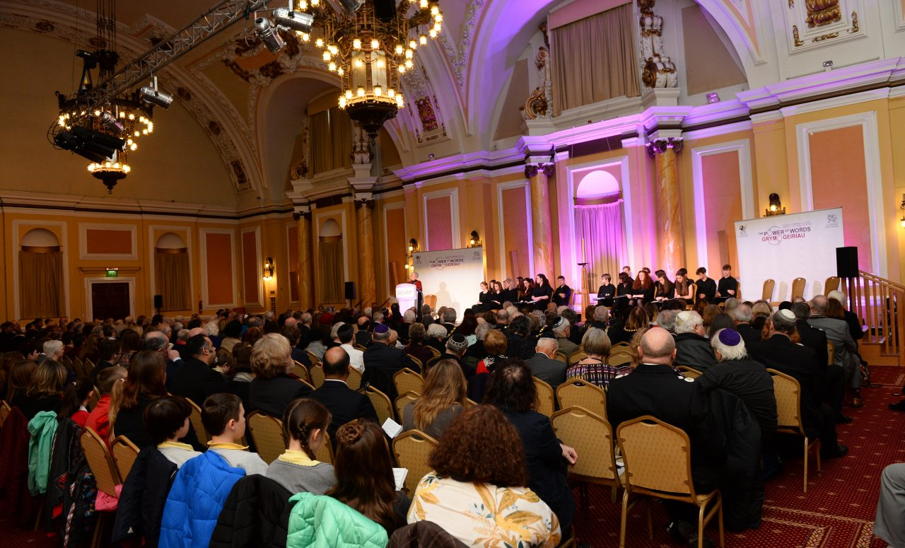 Wales comes together to mark Holocaust Memorial Day 2018