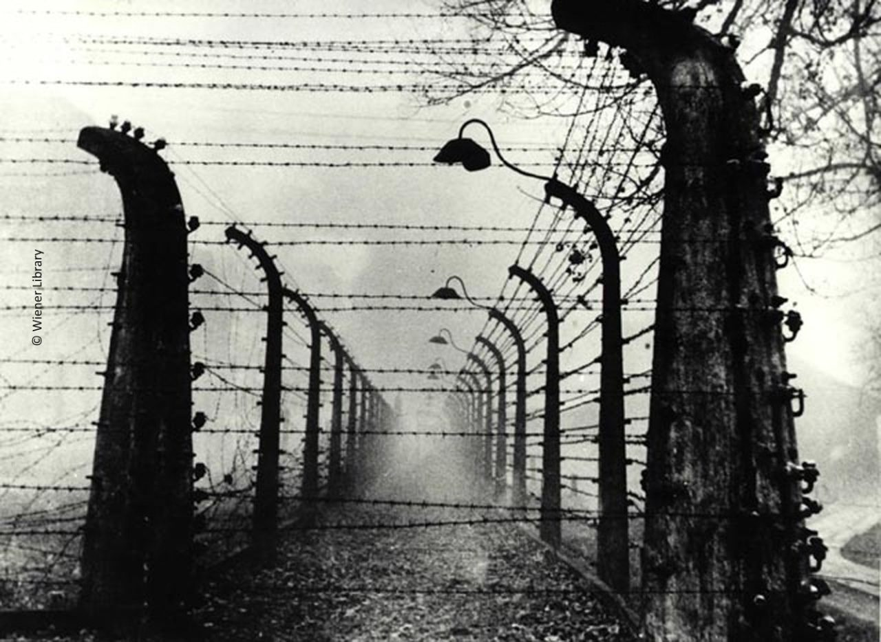 Double fence at Auschwitz