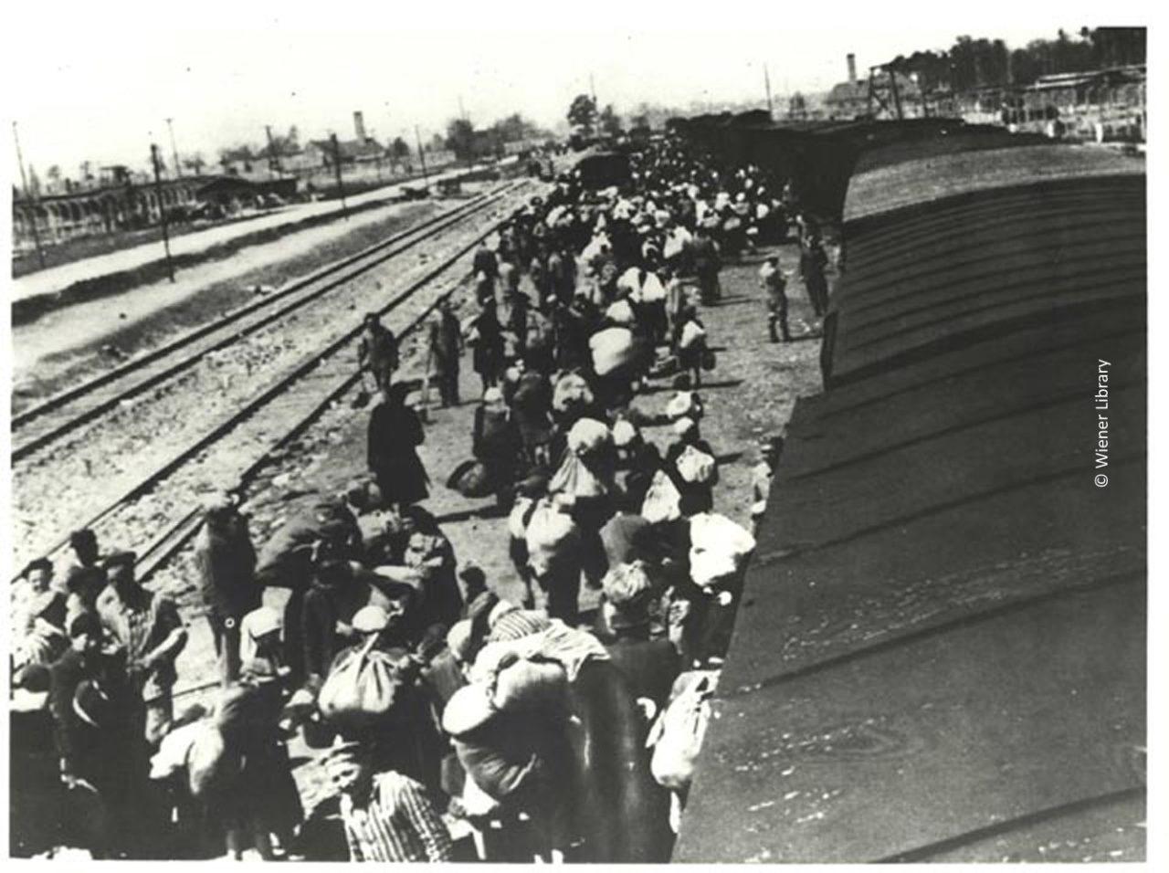 Arrival at Auschwitz-Birkenau