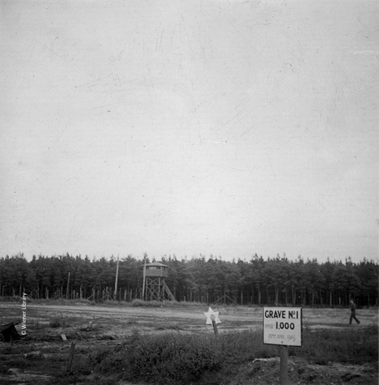 Mass grave at Bergen Belsen