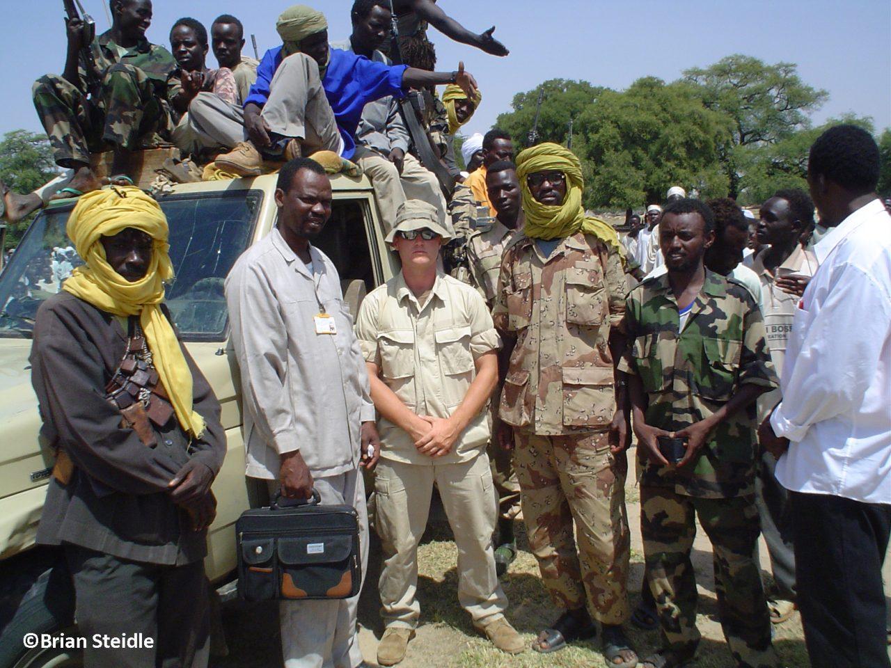 Brian in Sudan