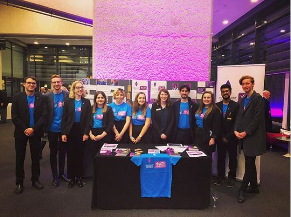 Youth Champions volunteer at the UK Ceremony, representing young people from all over the UK