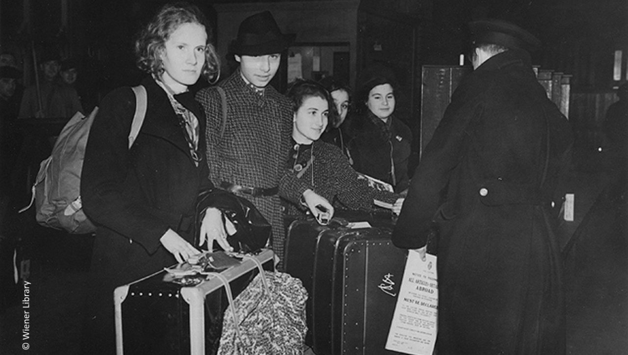 Wiener Library - Kindertransport and refugees