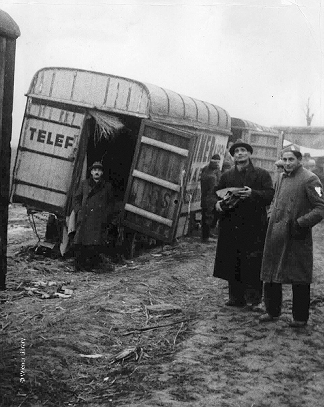 Deported Jews in no mans land