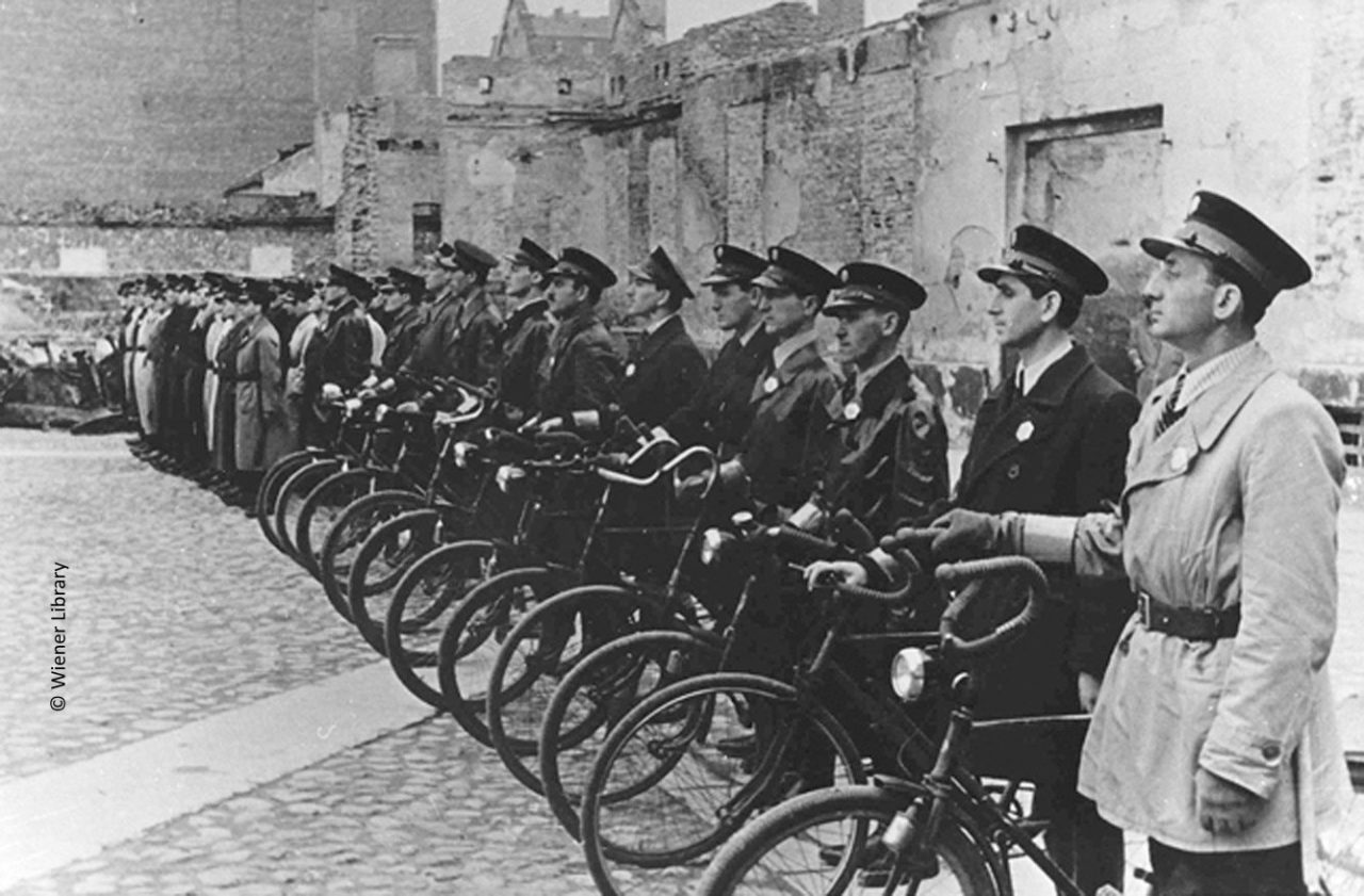 Jewish Ghetto Police in Warsaw
