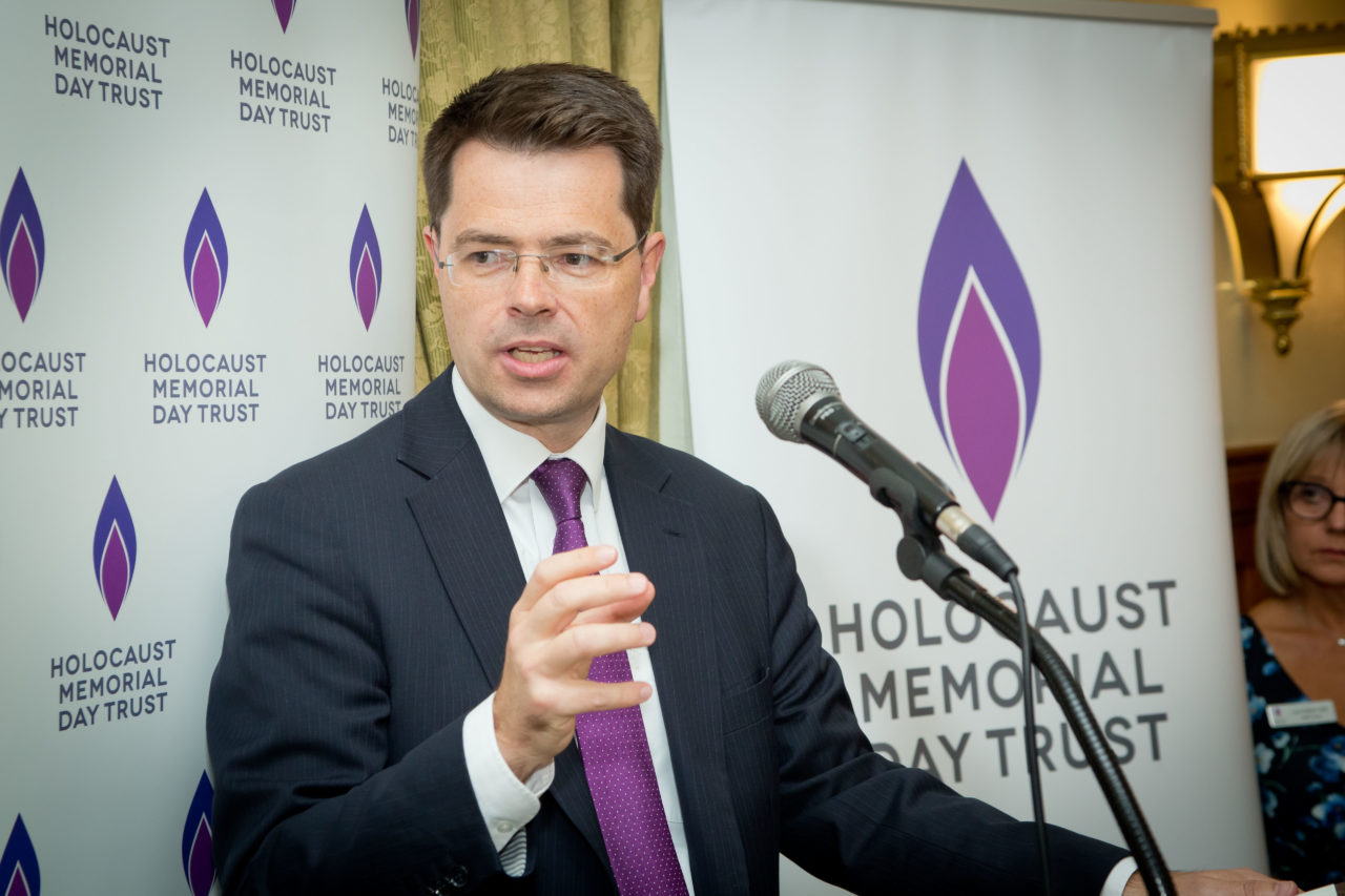 Secretary of State, Rt Hon James Brokenshire