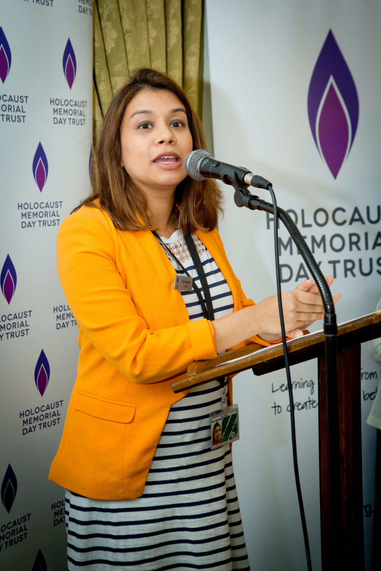 Tulip Siddiq MP hosted the reception