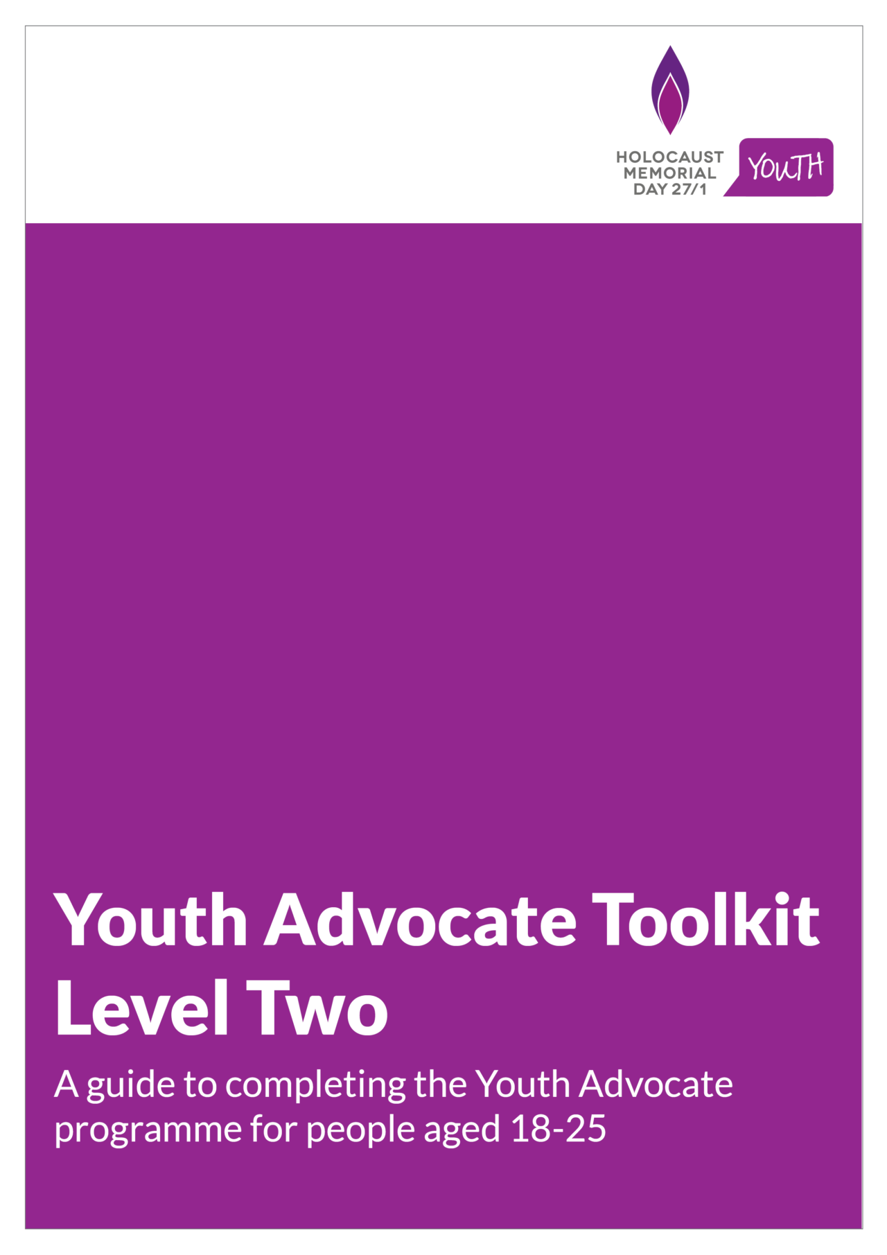 Youth Advocate Toolkit - Level Two