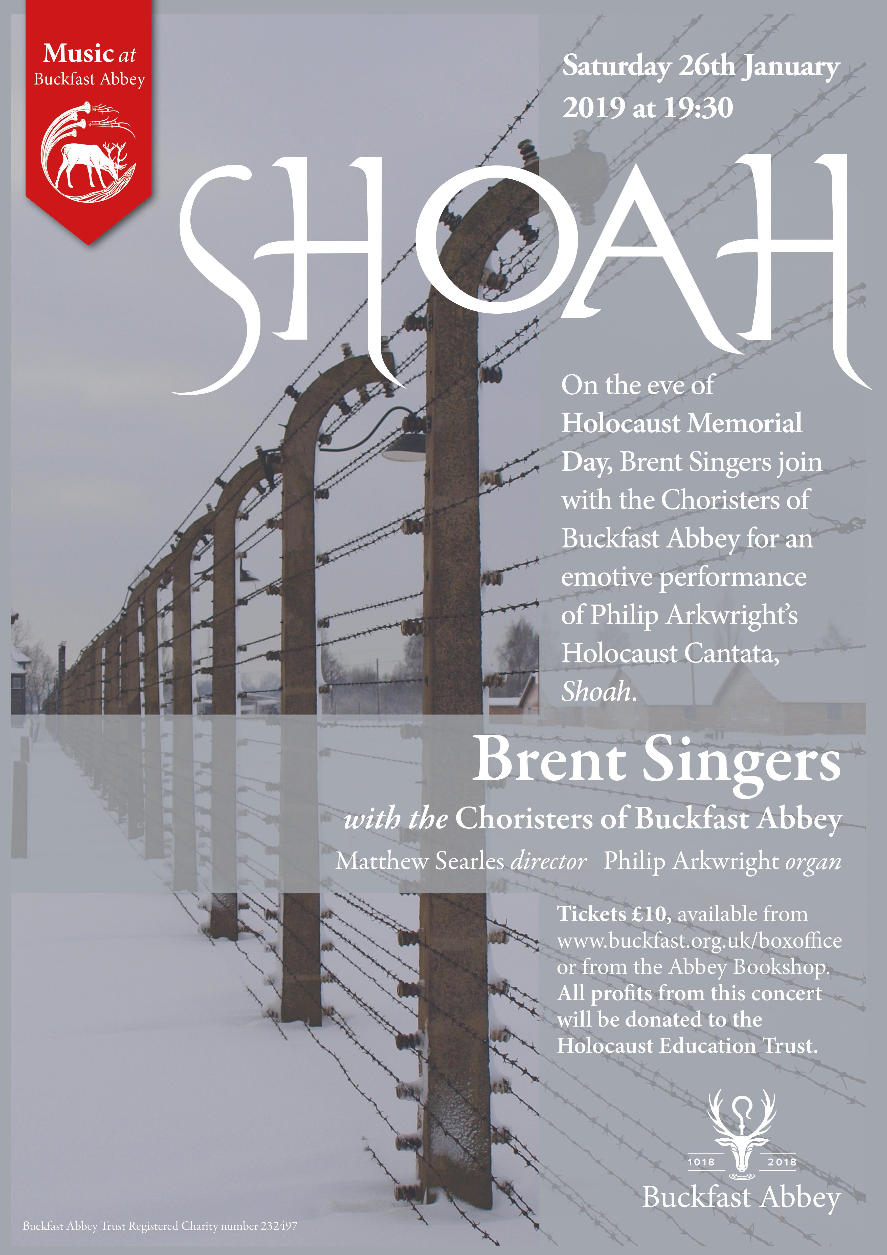 Shoah:  A Holocaust Cantata