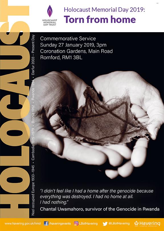 Holocaust Memorial Day Service