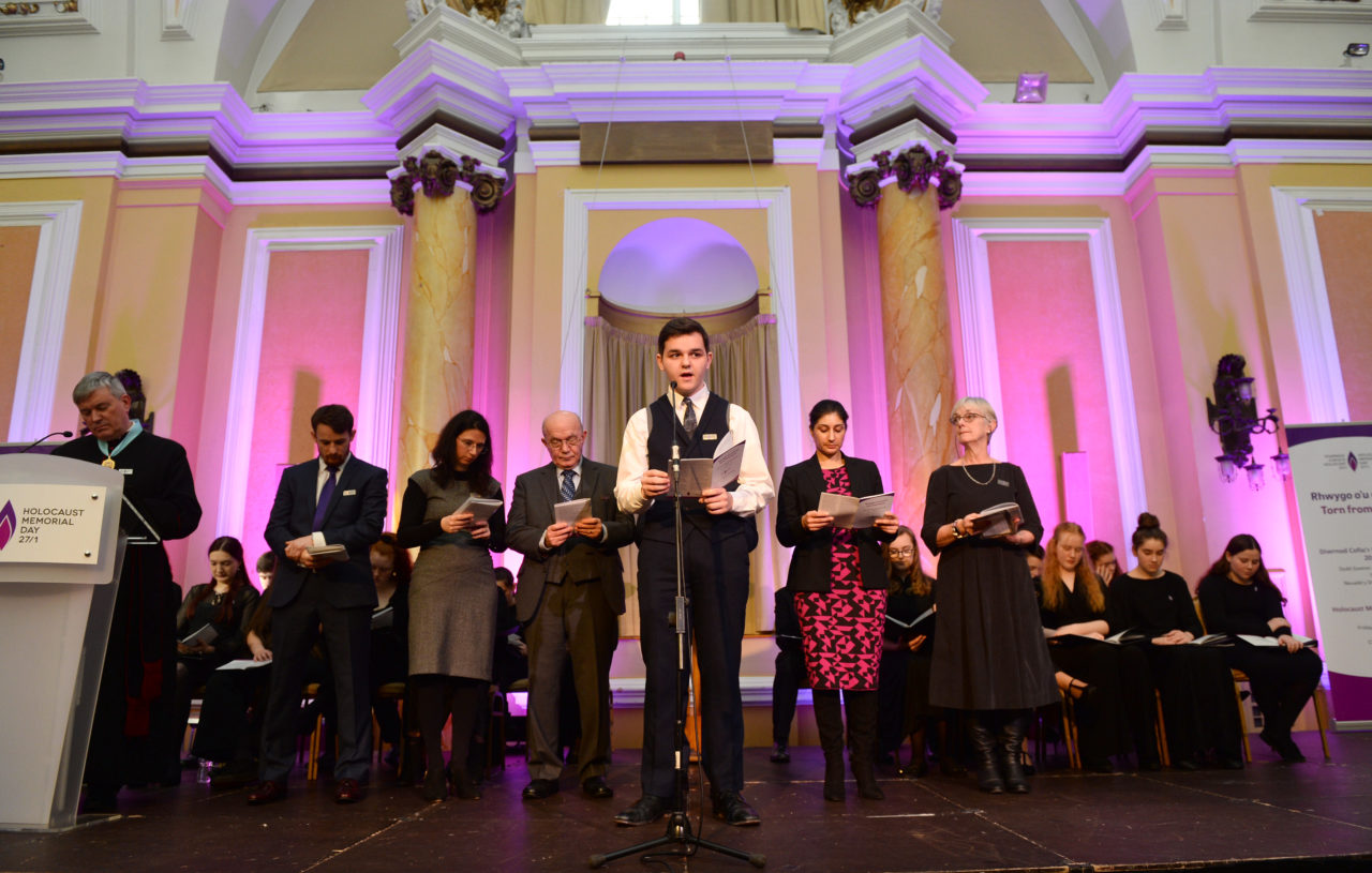 WALES COMES TOGETHER TO MARK HOLOCAUST MEMORIAL DAY 2019