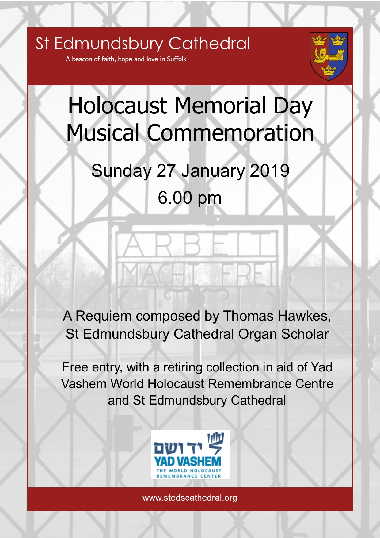 Holocaust Memorial Day Musical Commemoration