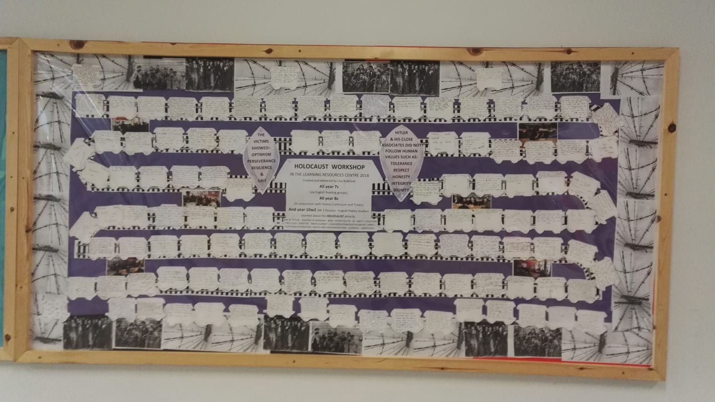 HOLOCAUST MEMORIAL DAY  - Commemorative Learning Activity in the LRC