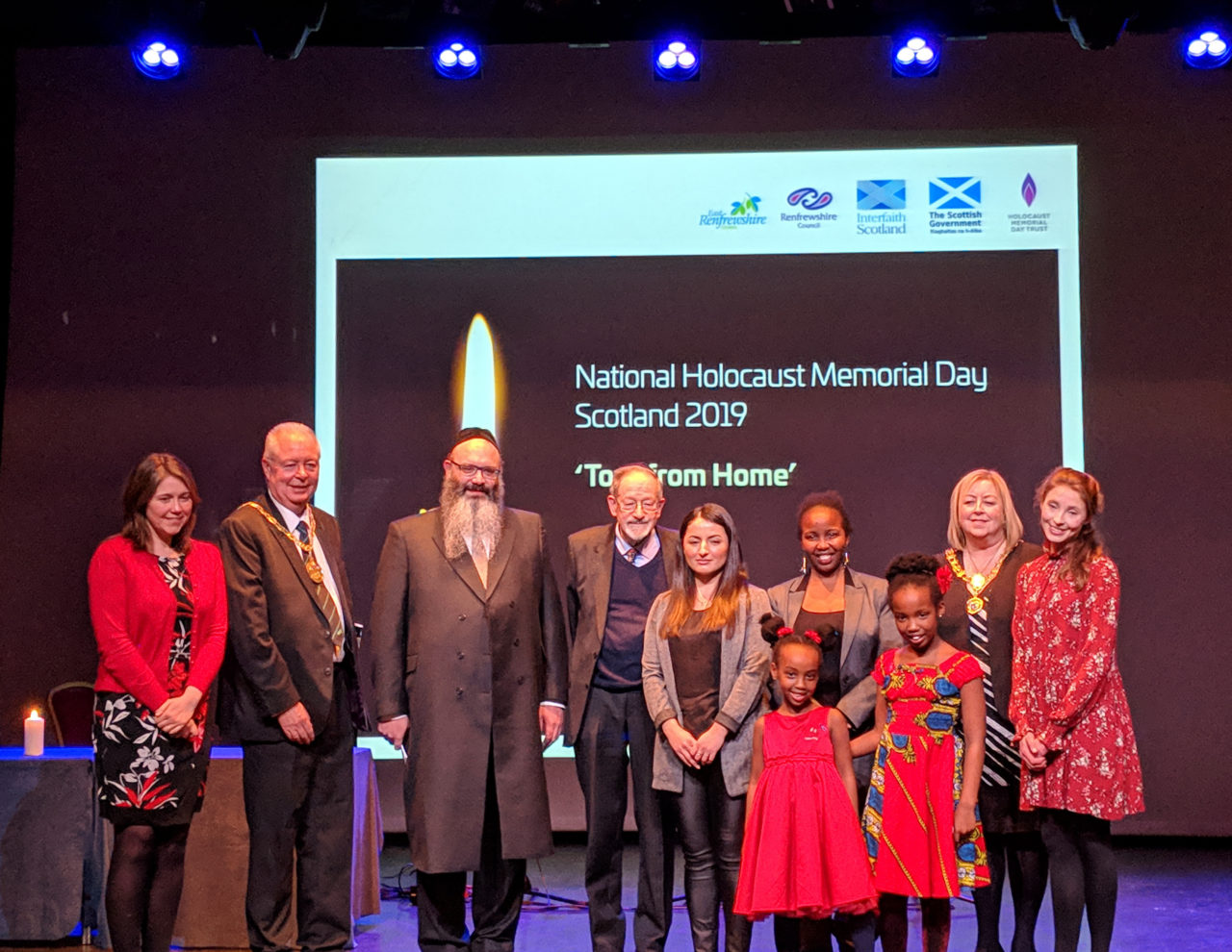 SCOTLAND NATIONAL COMMEMORATIVE EVENT FOR HOLOCAUST MEMORIAL DAY 2019