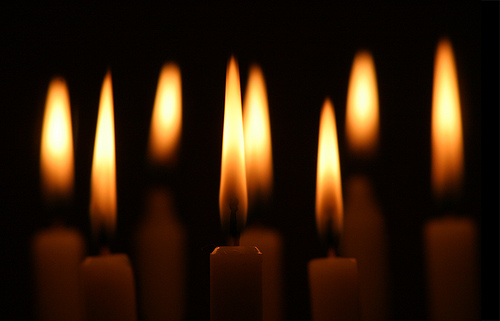 Special Choral Evensong with lighting of candles.
