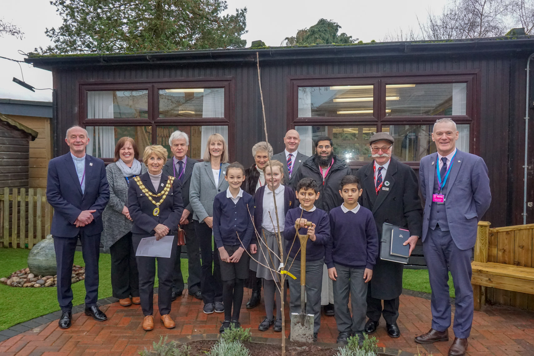 Growing a cherry tree orchard of remembrance across Shropshire