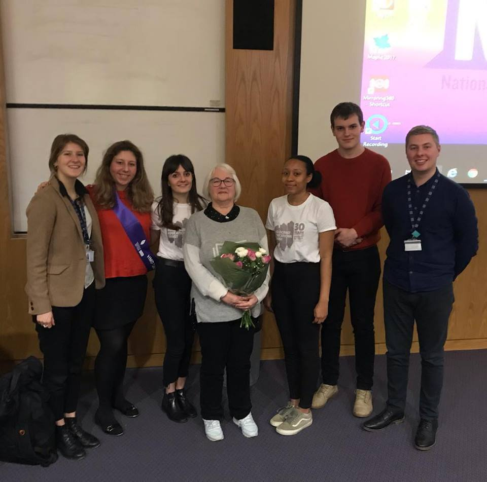 'Torn From Home': Talk From Child Holocaust Survivor, Joan Salter MBE