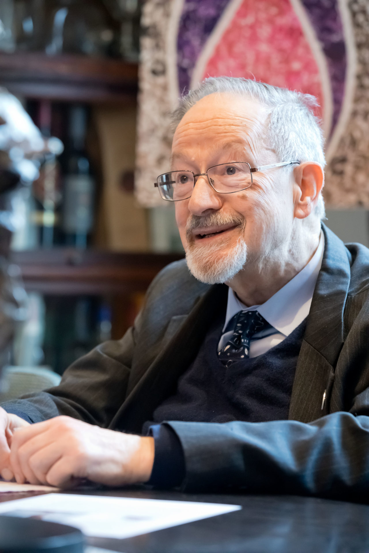 Martin Stern MBE, survivor of the Holocaust