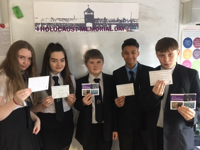 Students at Darwen Aldridge Enterprise Studio mark HMD 2019