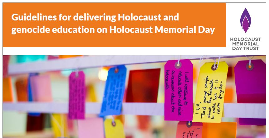 Guidelines for teachers  – Holocaust and genocide education