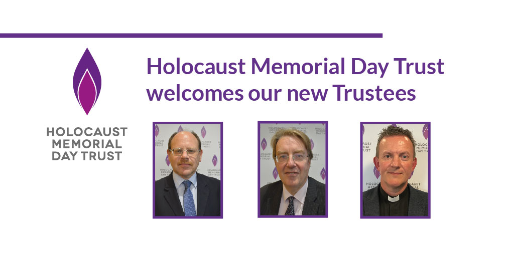New Trustees appointed at Holocaust Memorial Day Trust
