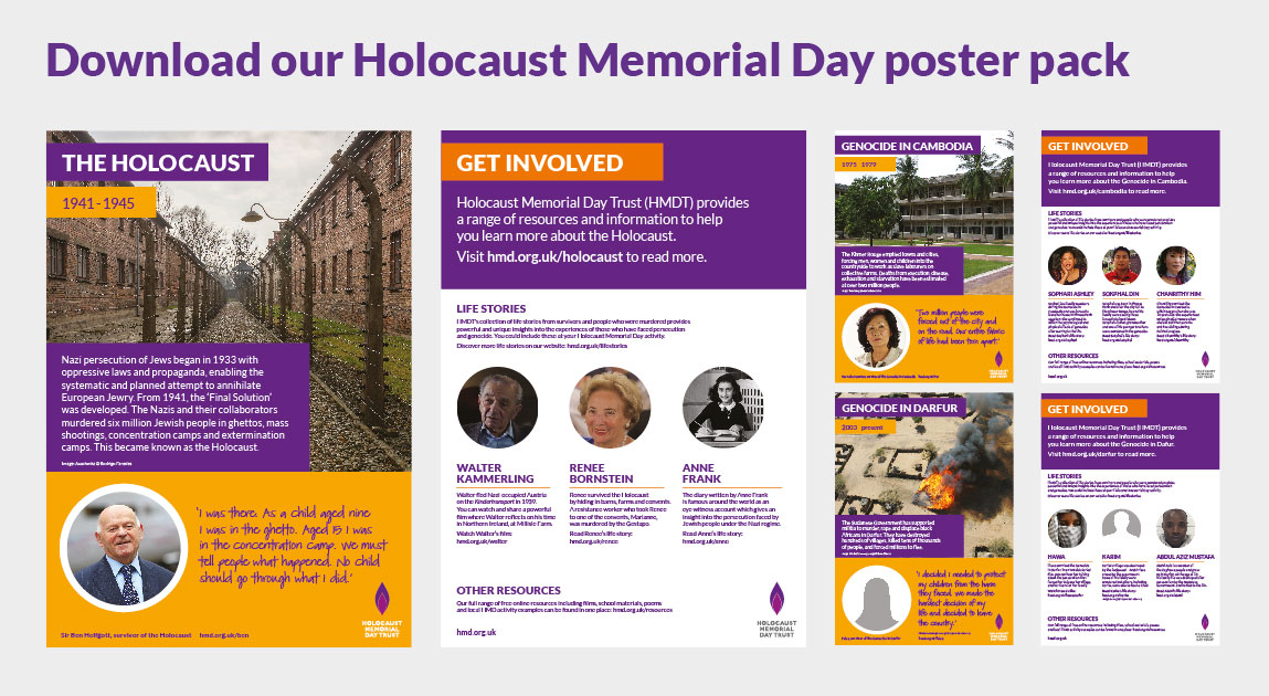 Holocaust and genocides posters