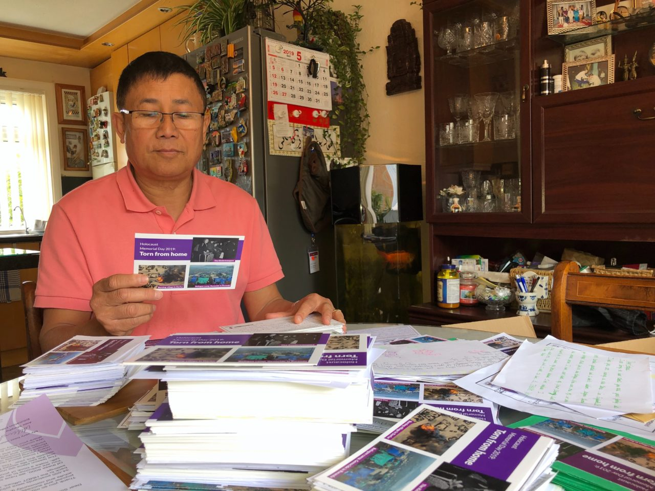 Survivors receive thousands of HMD postcards