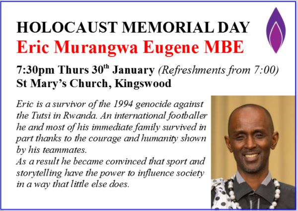 Eric Murangwa Eugene MBE