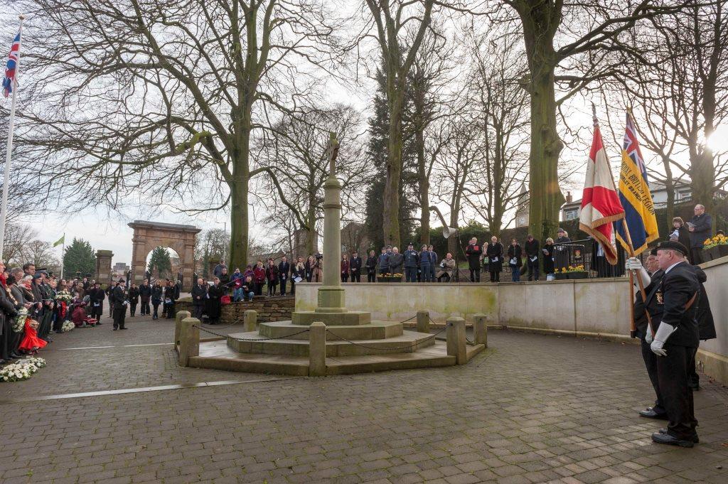 Chorley Holocaust Memorial Service