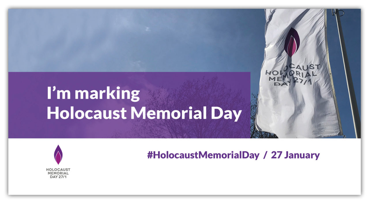 Marking Holocaust Memorial Day online
