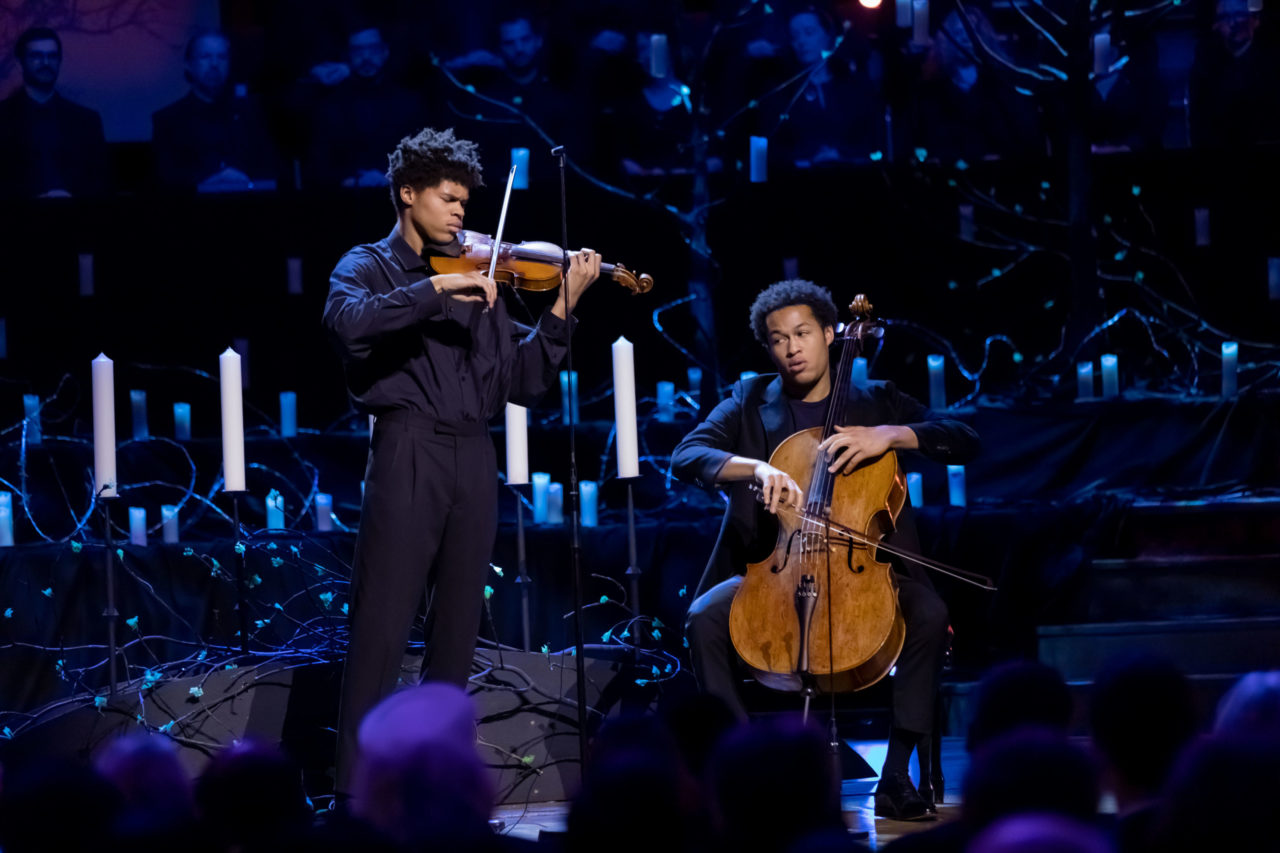 Sheku Kanneh-Mason and Braimah Kanneh Maison perform 'Prayer No.1 from Jewish Life' by Ernest Bloch