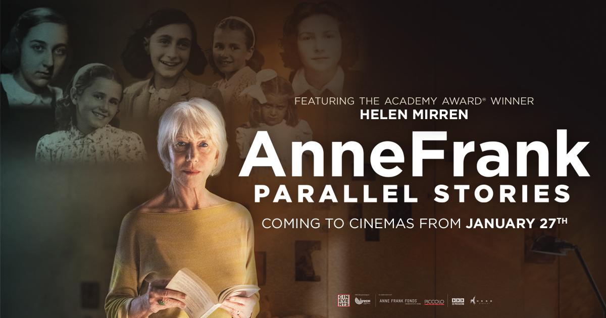 Anne Frank: Parallel Stories- Odeon Edinburgh Lothian Rd