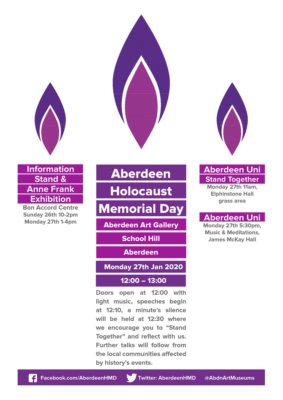 Aberdeen Holocaust Memorial Day