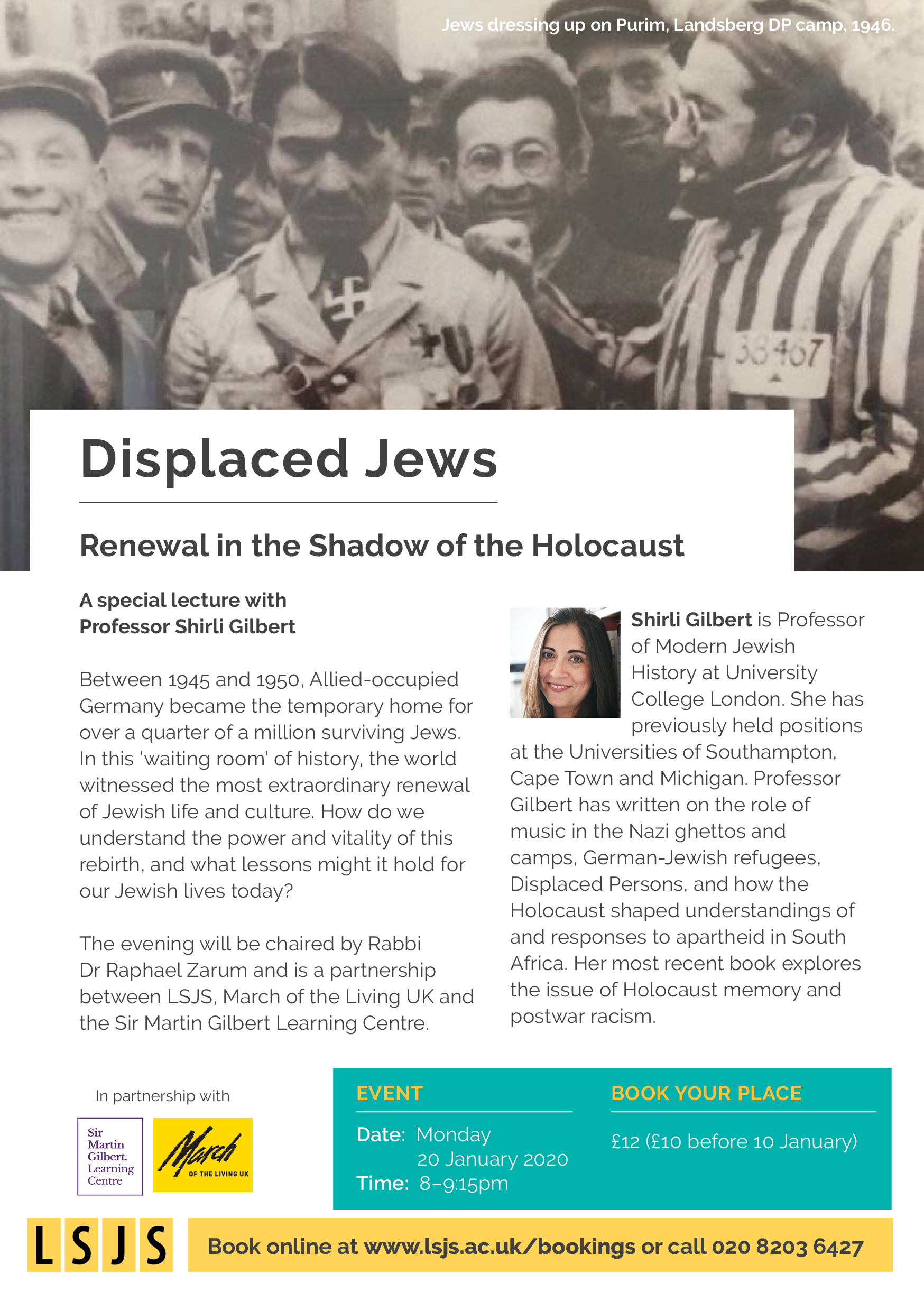 A special lecture with Professor Shirli Gilbert