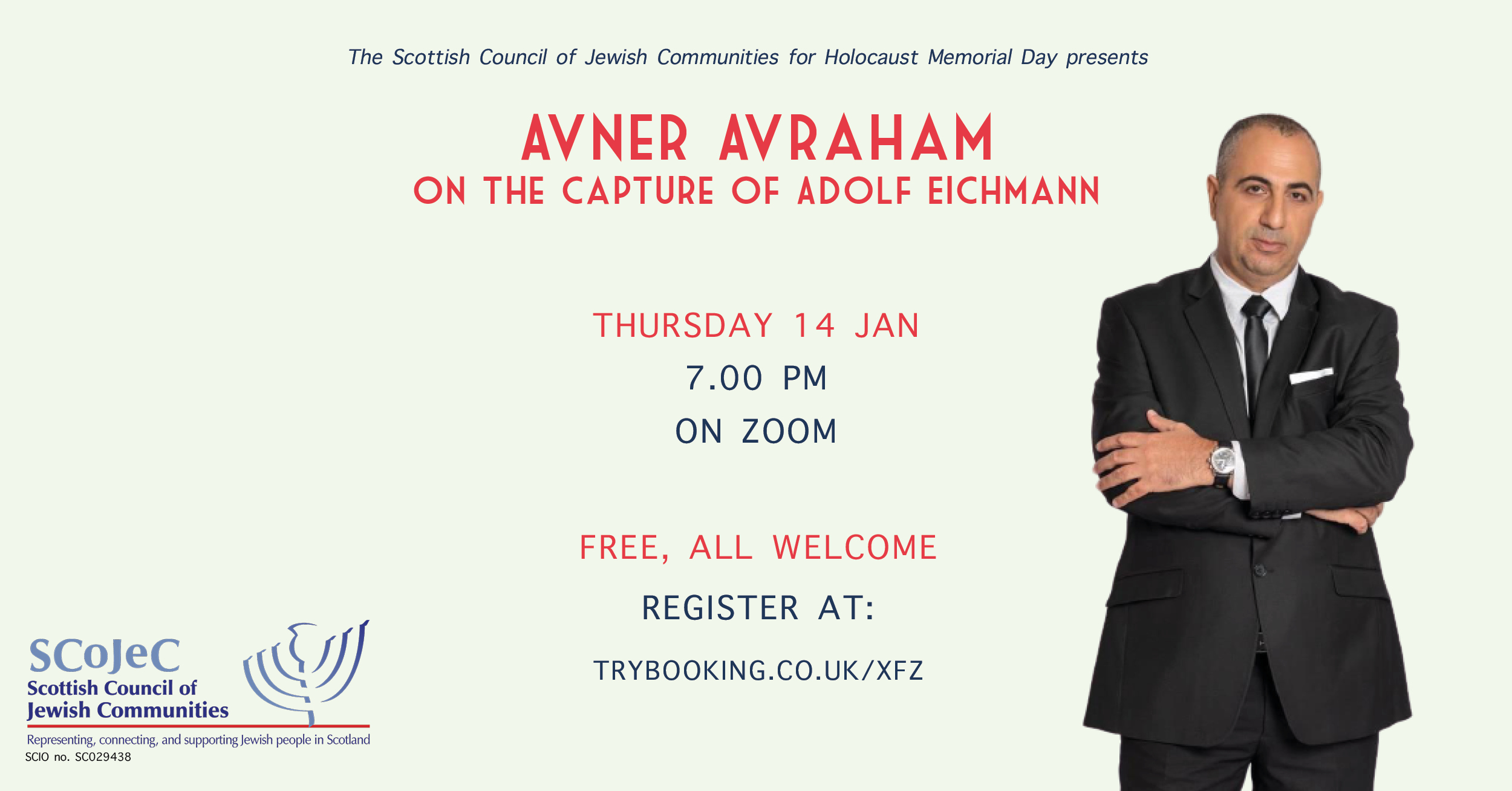 Avner Avraham on the Capture of Adolf Eichmann