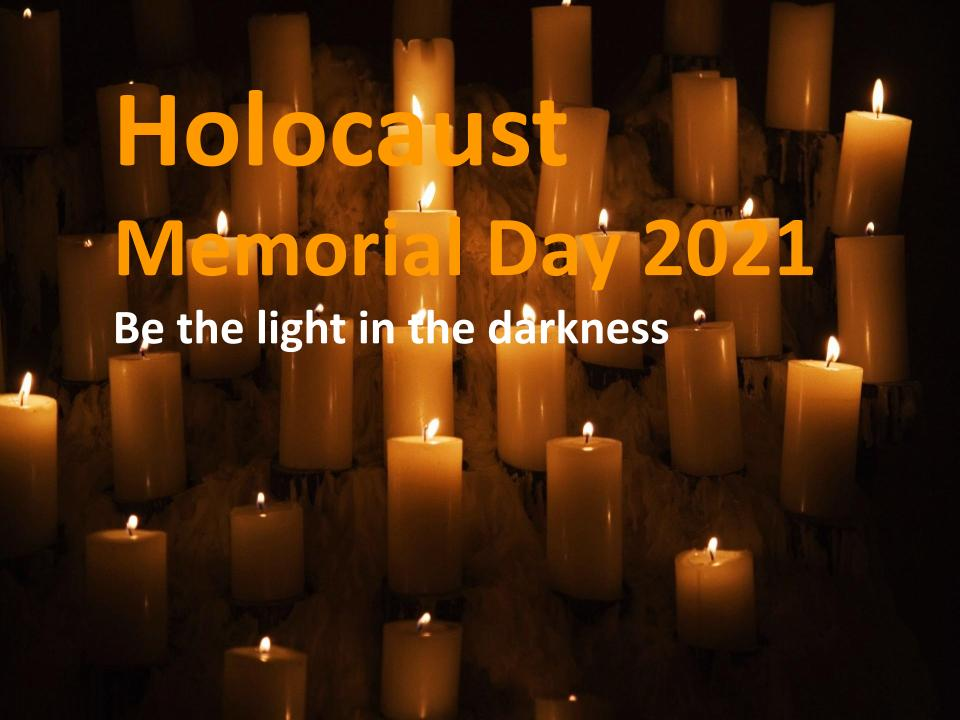 Hackney's Holocaust Memorial Day: Be the light in the darkness