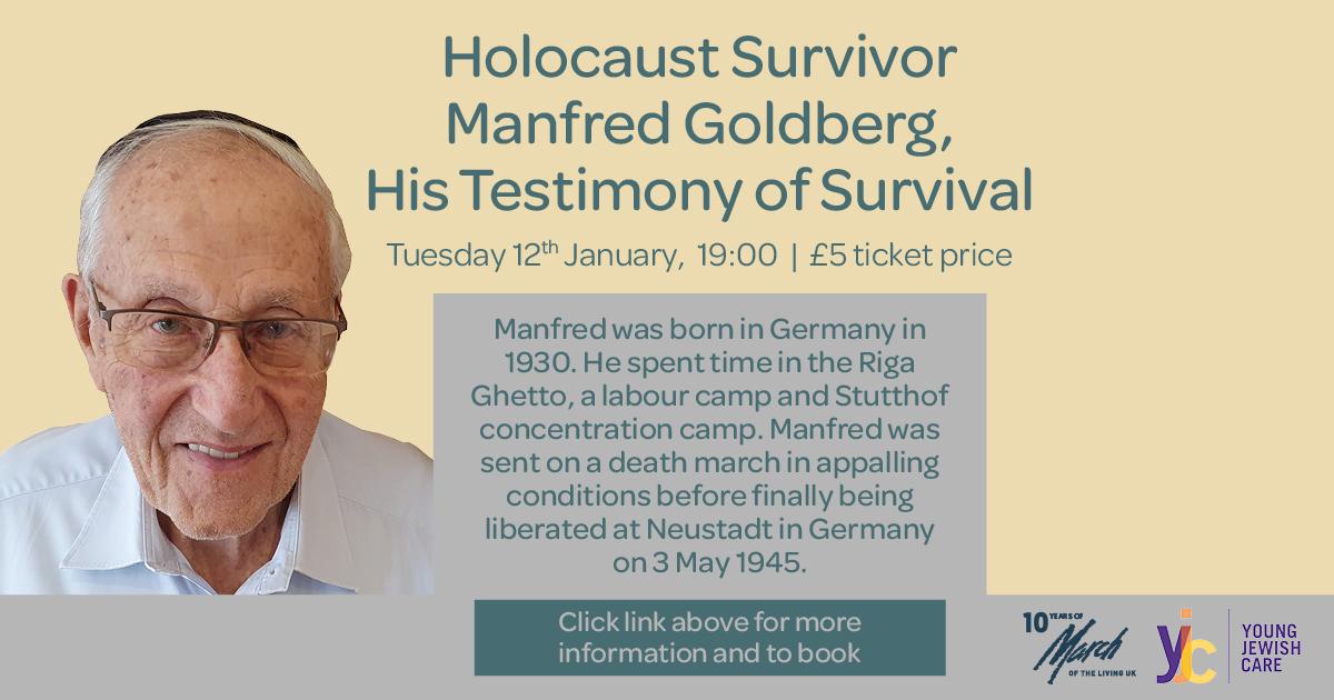 Manfred Goldberg's Testimony