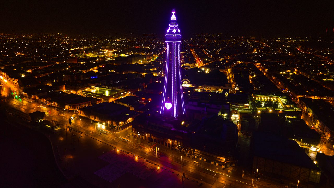 Blackpool Tower; Photo credit Ashley Barnard Photography