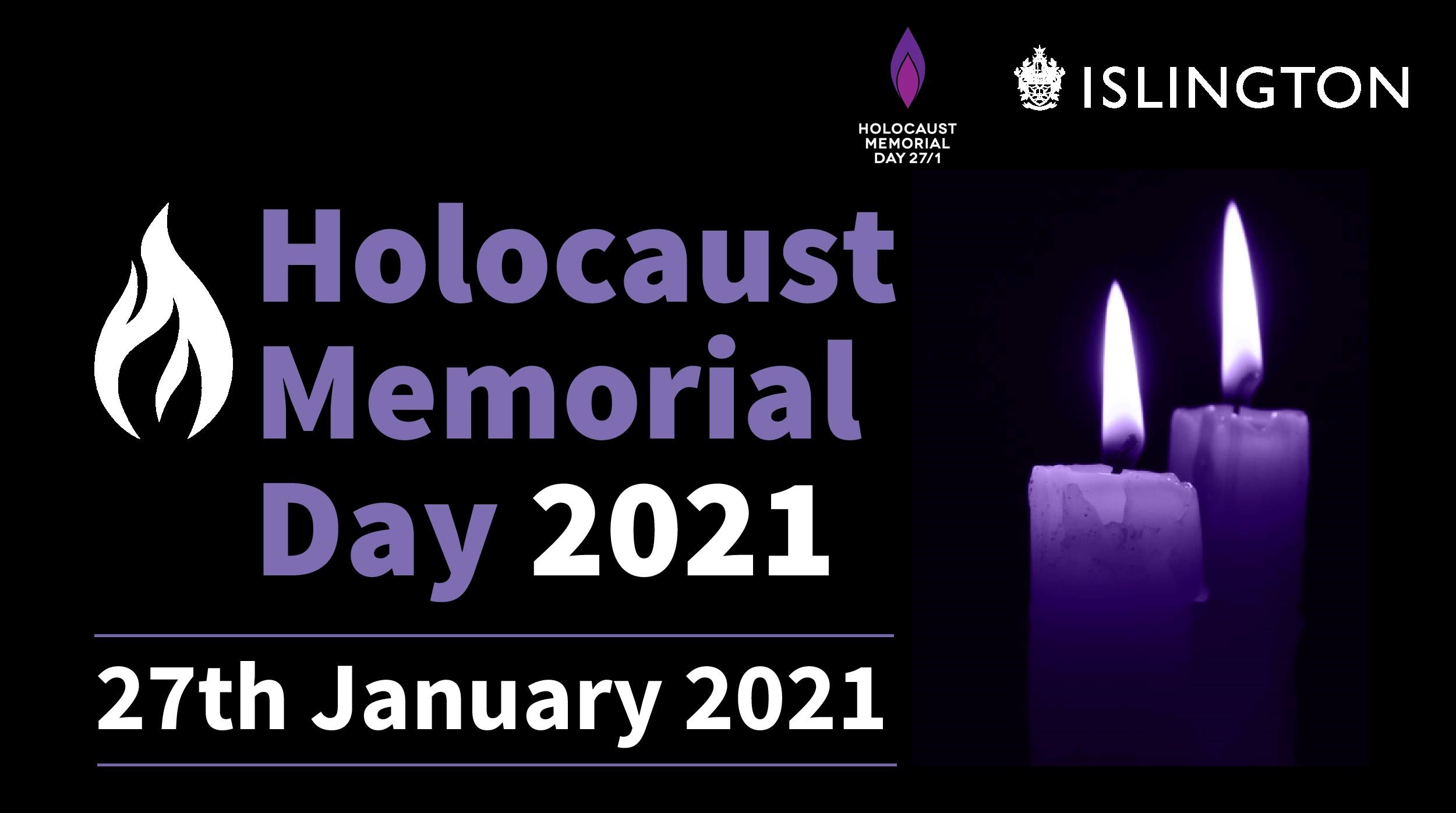 Holocaust Memorial Day with Islington Council