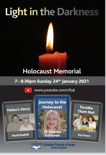 'Light in the Darkness' - CFI Holocaust Memorial Event 2021 – YouTube